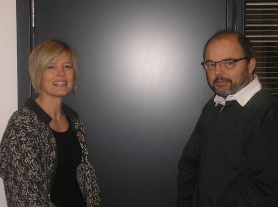 Vicki Bruhn og Poul Henning Jensen