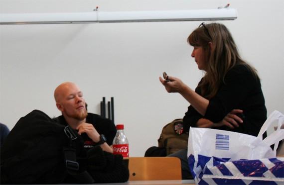 Kirsten Nørh fra SDE i Odense er en god voksenven for frafaldstruede unge